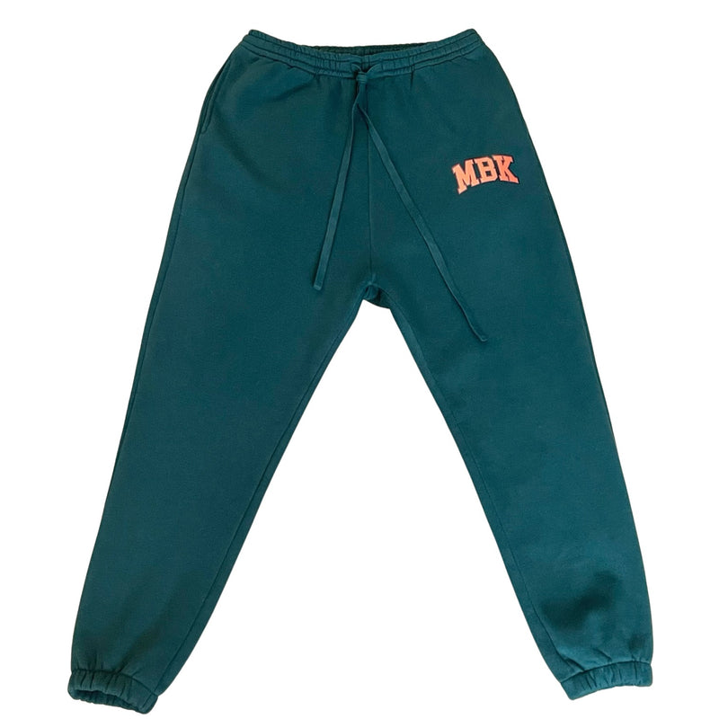 "THE ""MBK"" FOREST GREEN JOGGER"