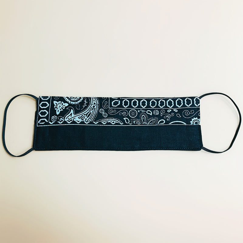 "Rectangular ""ANTIMICROBIAL"" Bandana Mask"
