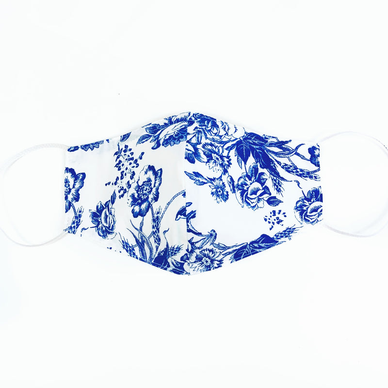 "Toile ""BLUE"" Standard mask"