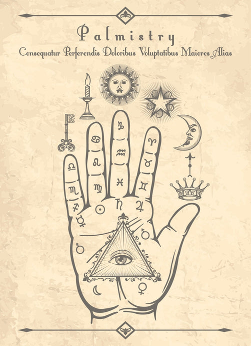 FREE PRINTABLE- Book of Shadows- Palmistry Artwork