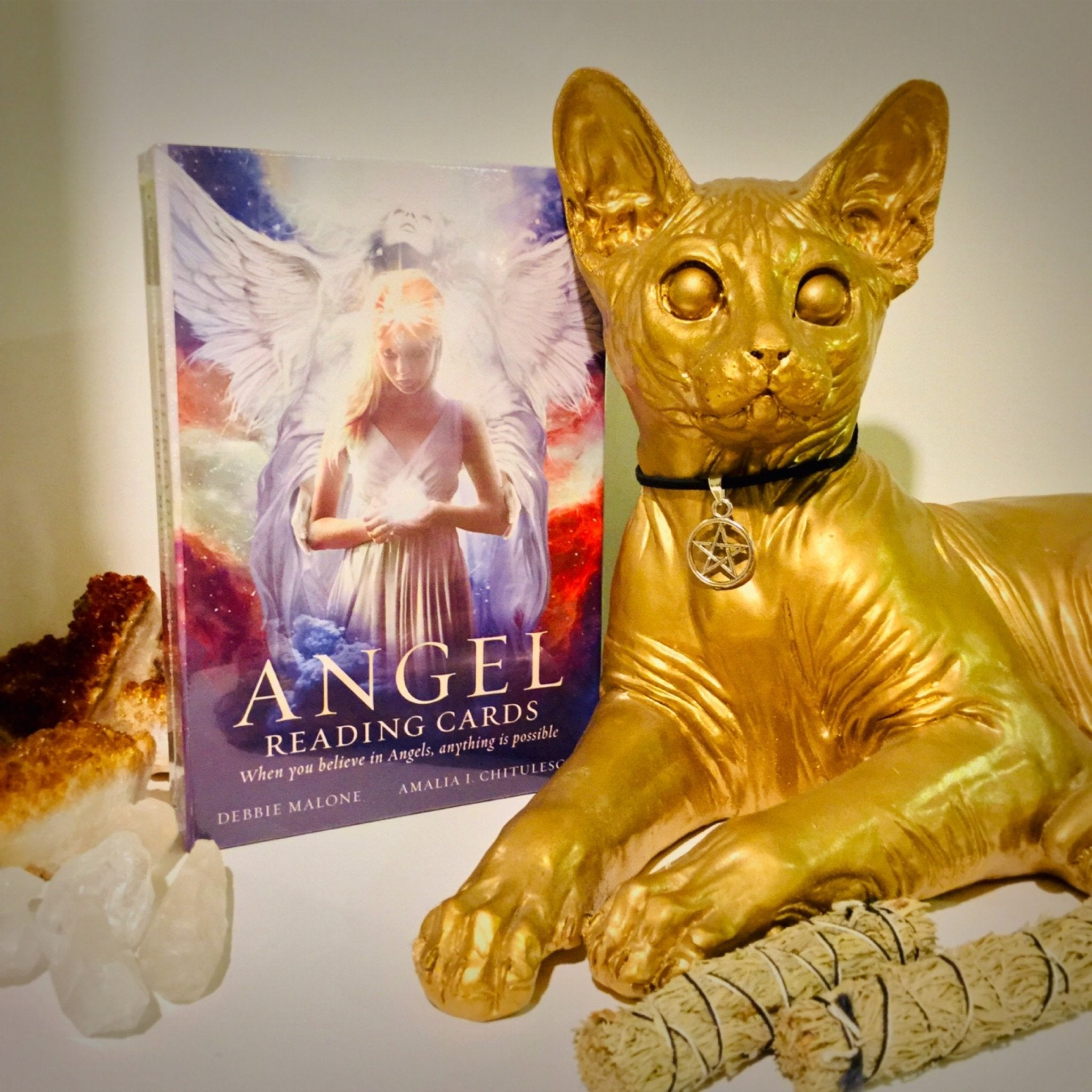 Angel Reading Cards - Black Cat Coven Couture