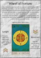 "Book of Shadows Printable: ""Wheel of Fortune"" - Black Cat Coven Couture"