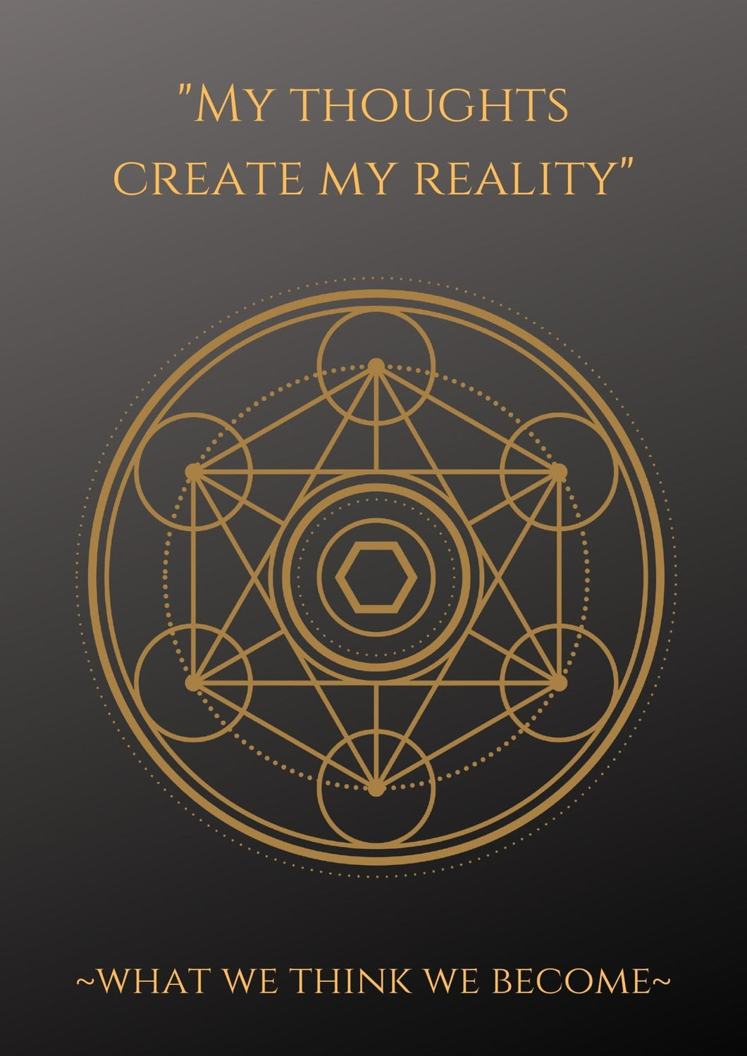 Book of Shadows: Sacred Geometry- Reality Printable - Black Cat Coven Couture
