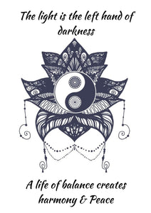 Book of Shadows: Ying & Yang Printable - Black Cat Coven Couture