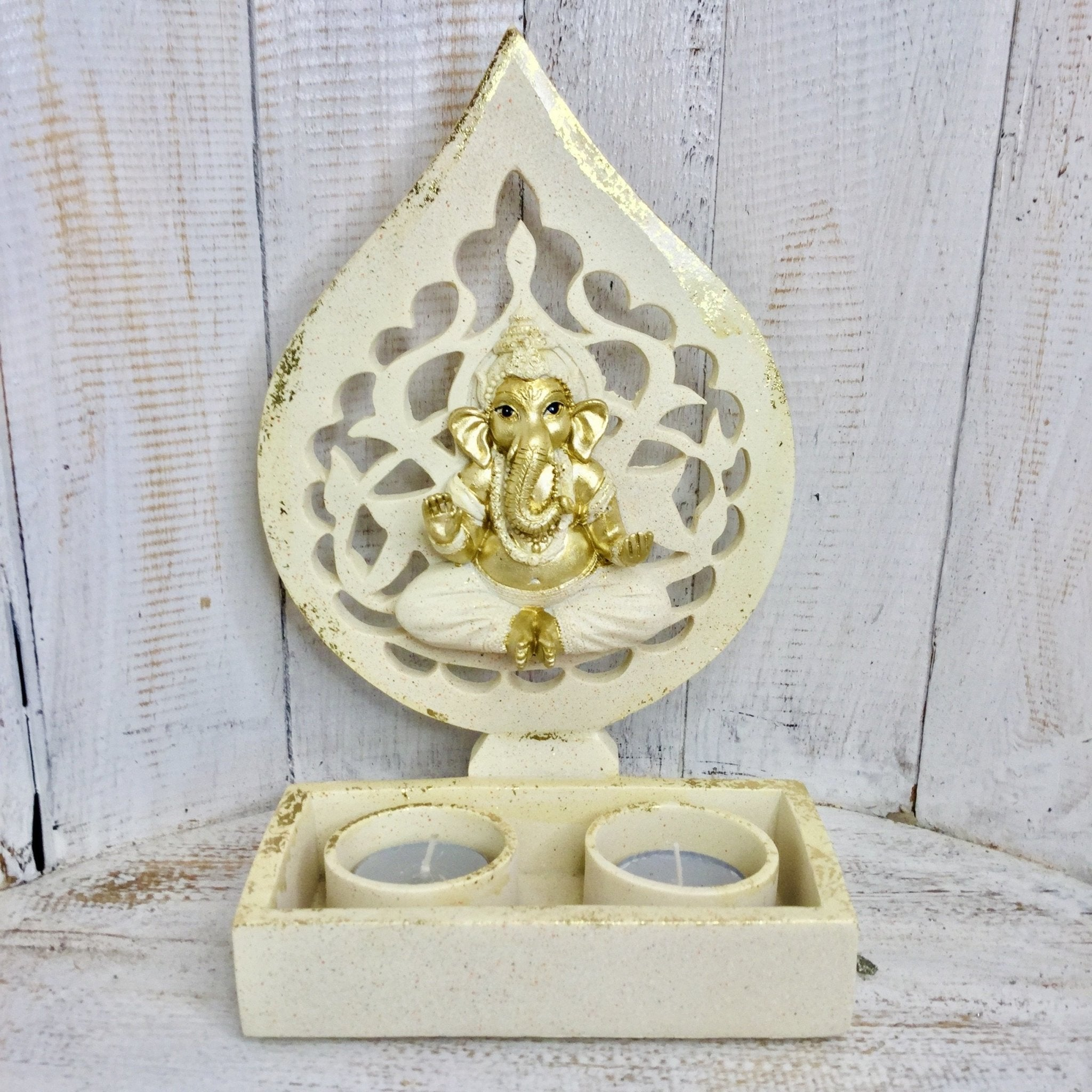 Ganesha Candle Holder - Black Cat Coven Couture