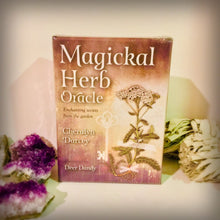 Load image into Gallery viewer, Magical Herb Oracle - Black Cat Coven Couture