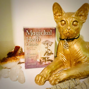 Magical Herb Oracle - Black Cat Coven Couture
