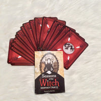 Seasons of the Witch- Samhain Oracle Deck - Black Cat Coven Couture