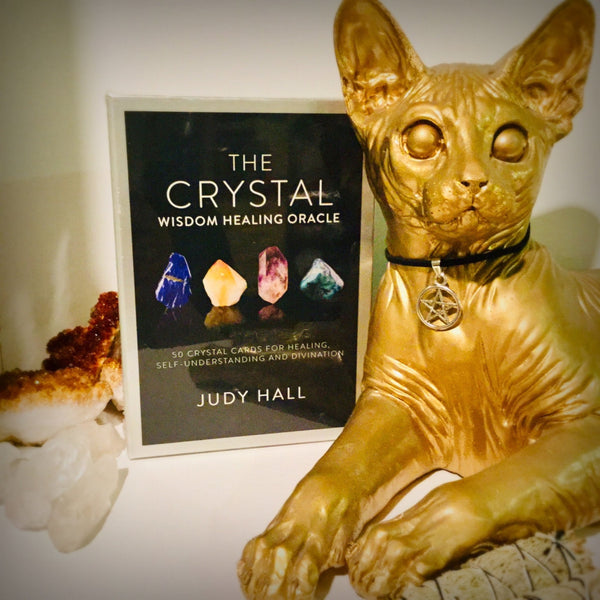 The Crystal Wisdom Healing Oracle - Black Cat Coven Couture