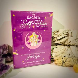 The Sacred Self-Care Oracle - Black Cat Coven Couture