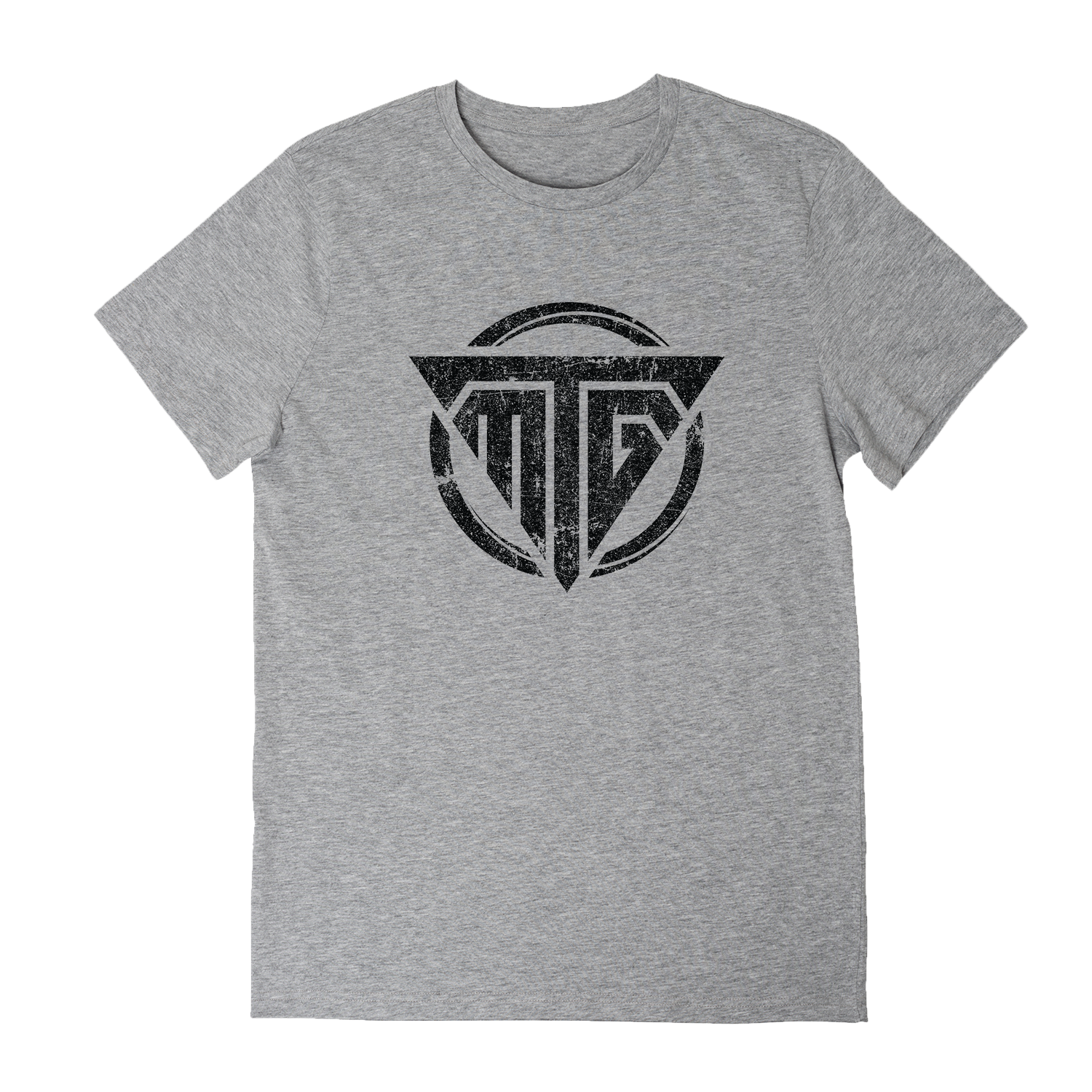 TMG Heather Vintage Logo Tee