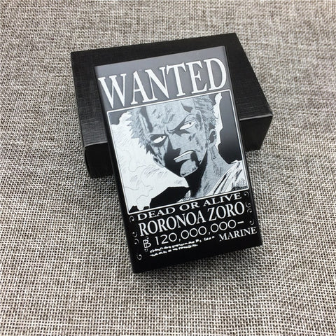 Boîte à cigarette One piece Zoro wanted - Luffy-store®