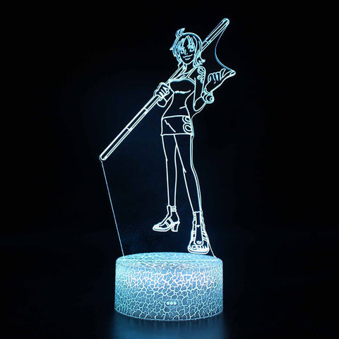 Lampe Acrylique One piece Nami - Luffy store®