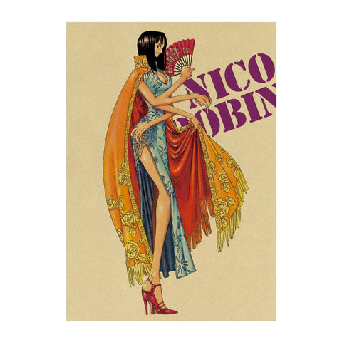 Poster One piece Nico Robin - Luffy store®