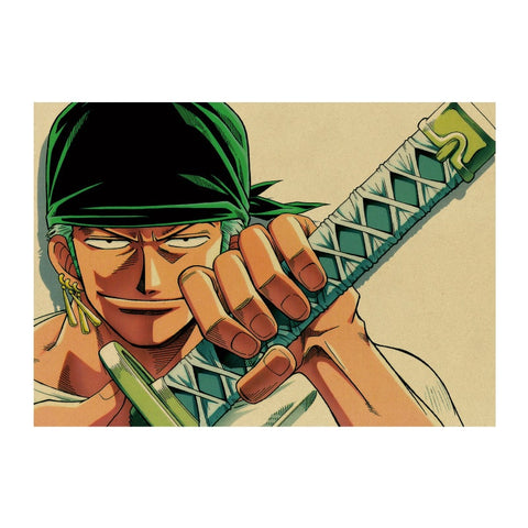 Poster One piece zoro - Luffy store®