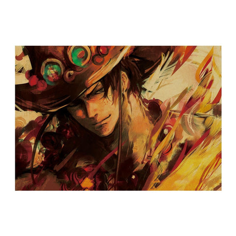 Poster One piece Ace - Luffy store®