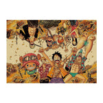 Poster One piece Gold - Luffy store