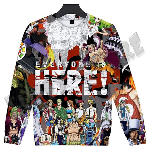 Pull one piece everyone - Luffy store®
