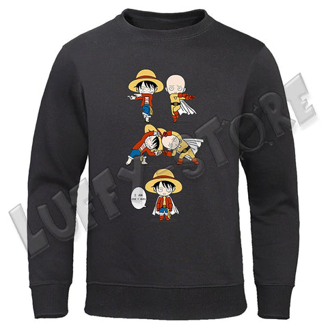 Pull one piece one punch man - Luffy store®