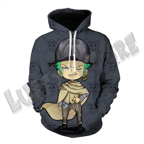 Sweat zoro enfant - Luffy store®
