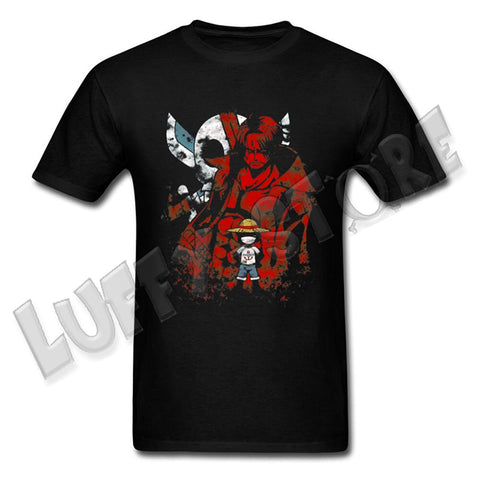 tee shirt one piece shanks le roux - luffy store®