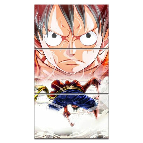 Tableau One piece Luffy au chapeau de paille