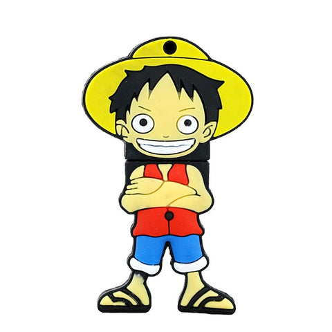 Clef USB One piece Luffy croisé - Luffy-store®