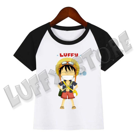 T-shirt One piece enfant Luffy aventure - Luffy store®