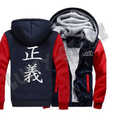 Veste polaire one piece marine - Luffy store