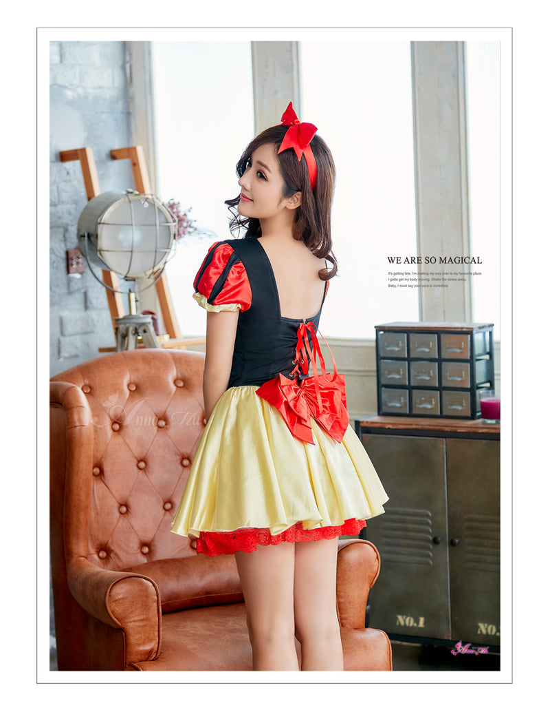 Lingeriecats Halloween Sexy Snow White Costume For Girl - LingerieCats