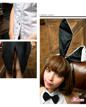 Lingeriecats Sexy Classic Bunny Girl Outfit Cosplay Costume - LingerieCats
