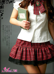 Back to Youth! 2 Pcs Student Costume
