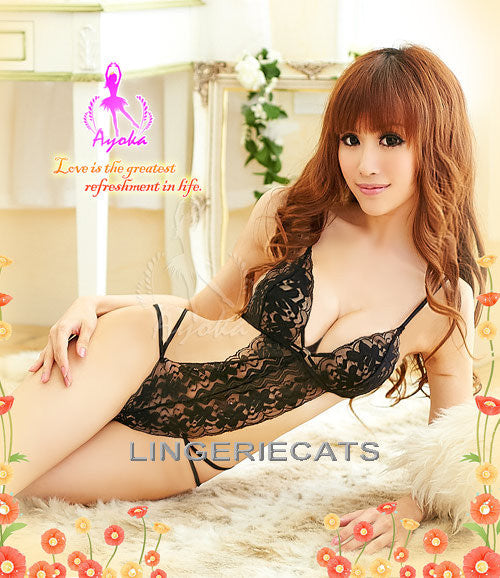 Sexy Babe Teddy - LingerieCats