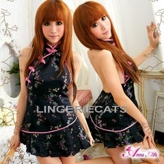 Fascinating China Doll Cheongsam Costume - LingerieCats