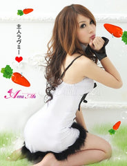 Lovely Bunny 5 Pcs Costume - LingerieCats