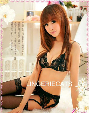 Hot Sheer Bikini Lingerie Set - LingerieCats