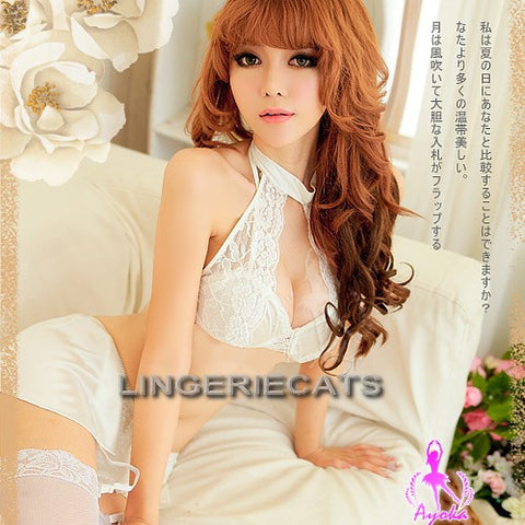 Bridal Skirtini 5 Pcs Bikini Set - LingerieCats