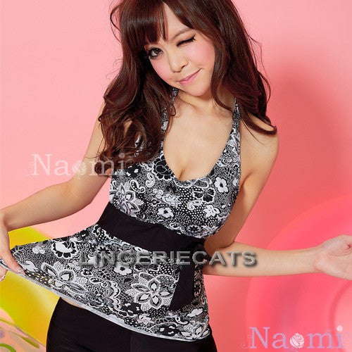 Fancy Summer! 3 Pcs Tankini Set - LingerieCats