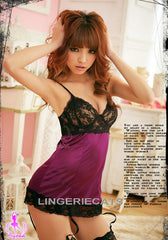 Sexy Love Fool 4 Pcs Babydoll Set - LingerieCats