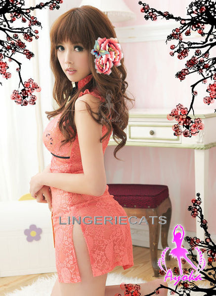 Appealing Chinese Cheongsam Costume - LingerieCats