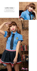 Lingeriecats Sexy Naughty School sweetie Uniform Cosplay Costume Set