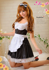 Lingeriecats Sexy Icing sugar Cuty Maid Outfit Cosplay Costume Set