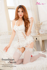 Lingeriecats Sexy Princess Snow White Handsome Rayon Corset Set