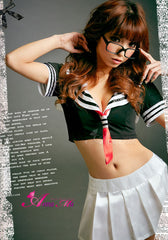 Lingeriecats Sexy lovely Sailor Outfit Cosplay Costume Set - LingerieCats