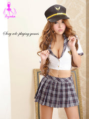 Lingeriecats Sexy Tempting Policeman Costume 3Pes