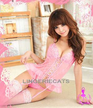 Royal Corset Set - LingerieCats
