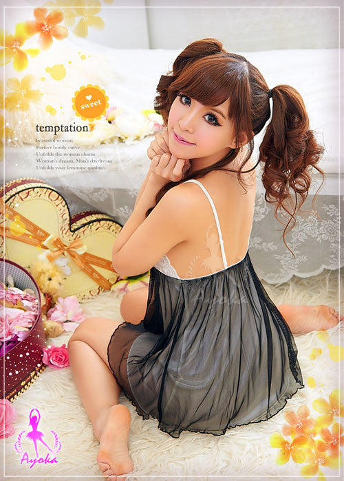Lingeriecats Sexy Valentine Babydoll - LingerieCats