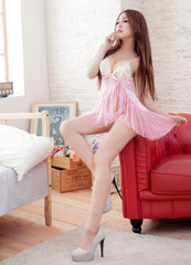 Lingeriecats Sexy Pink Sweetheart Slip