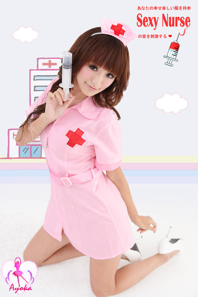 Sexy Tempting Nurse Costume Outfit