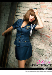 Lingeriecats Sexy bewitching Police Outfit Cosplay Costume Set - LingerieCats